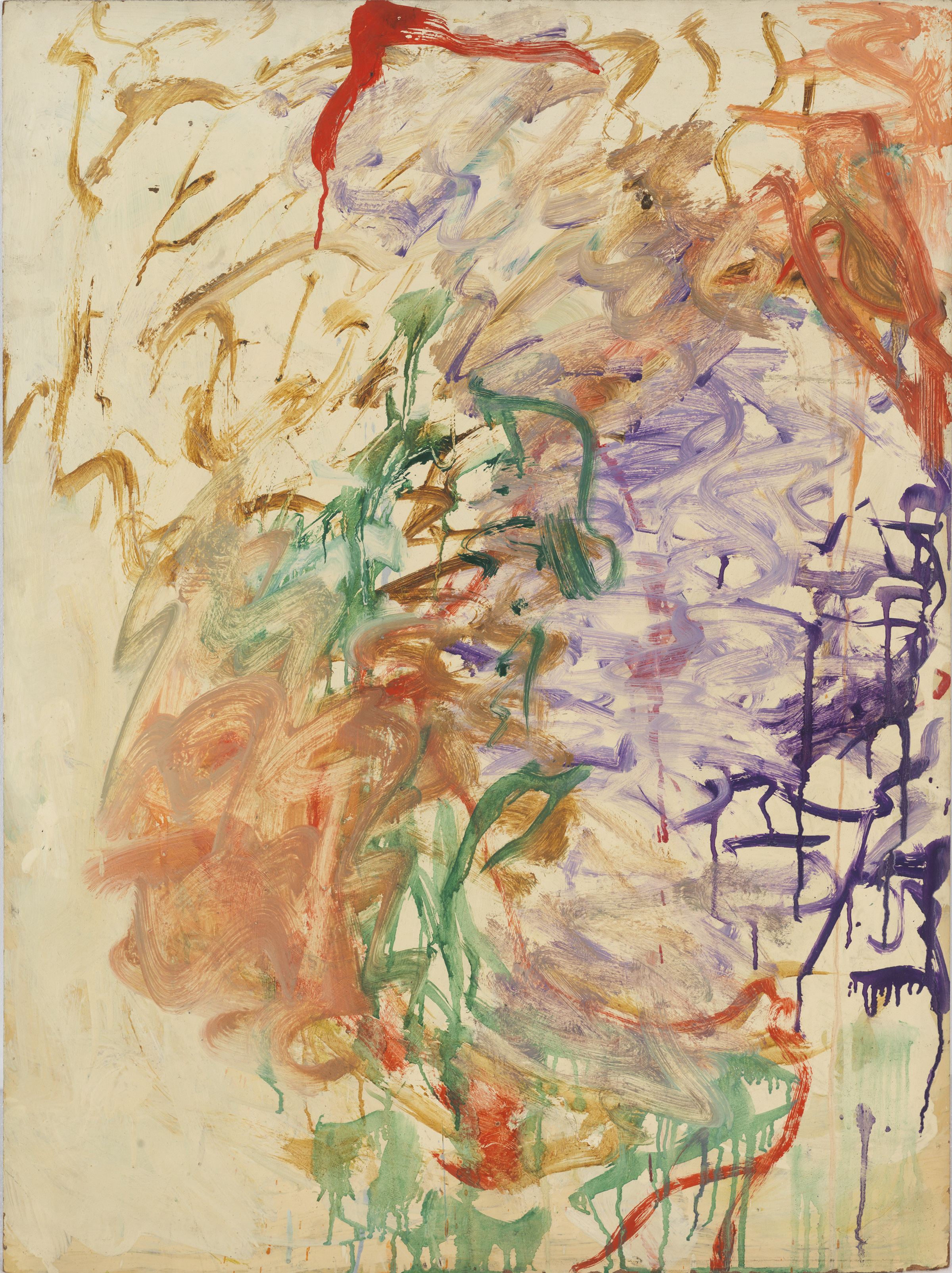 Pat Passlof  Tan , 1960 Oil on linen 24 x 32 inches