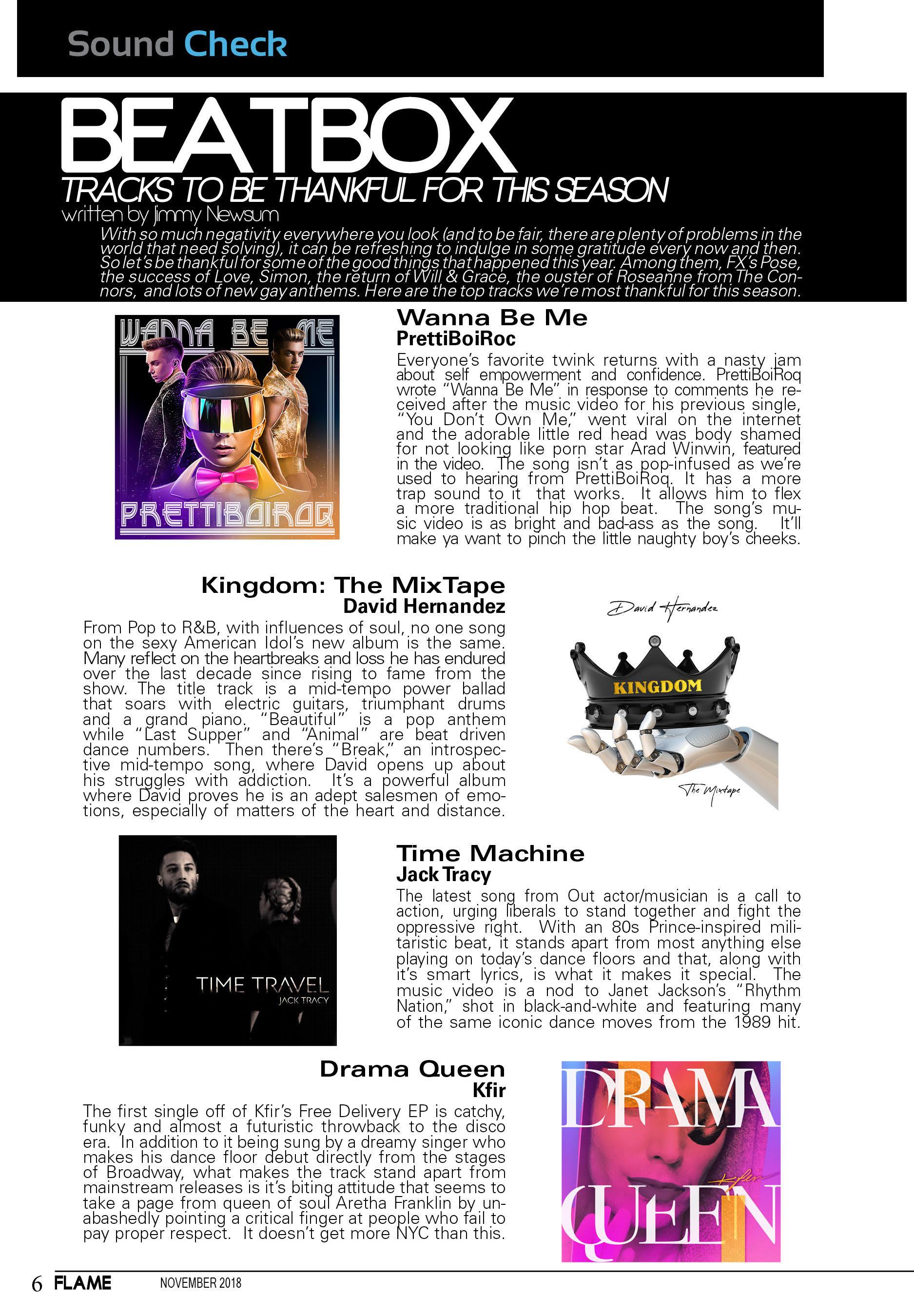 Flame Magazine - October 2018