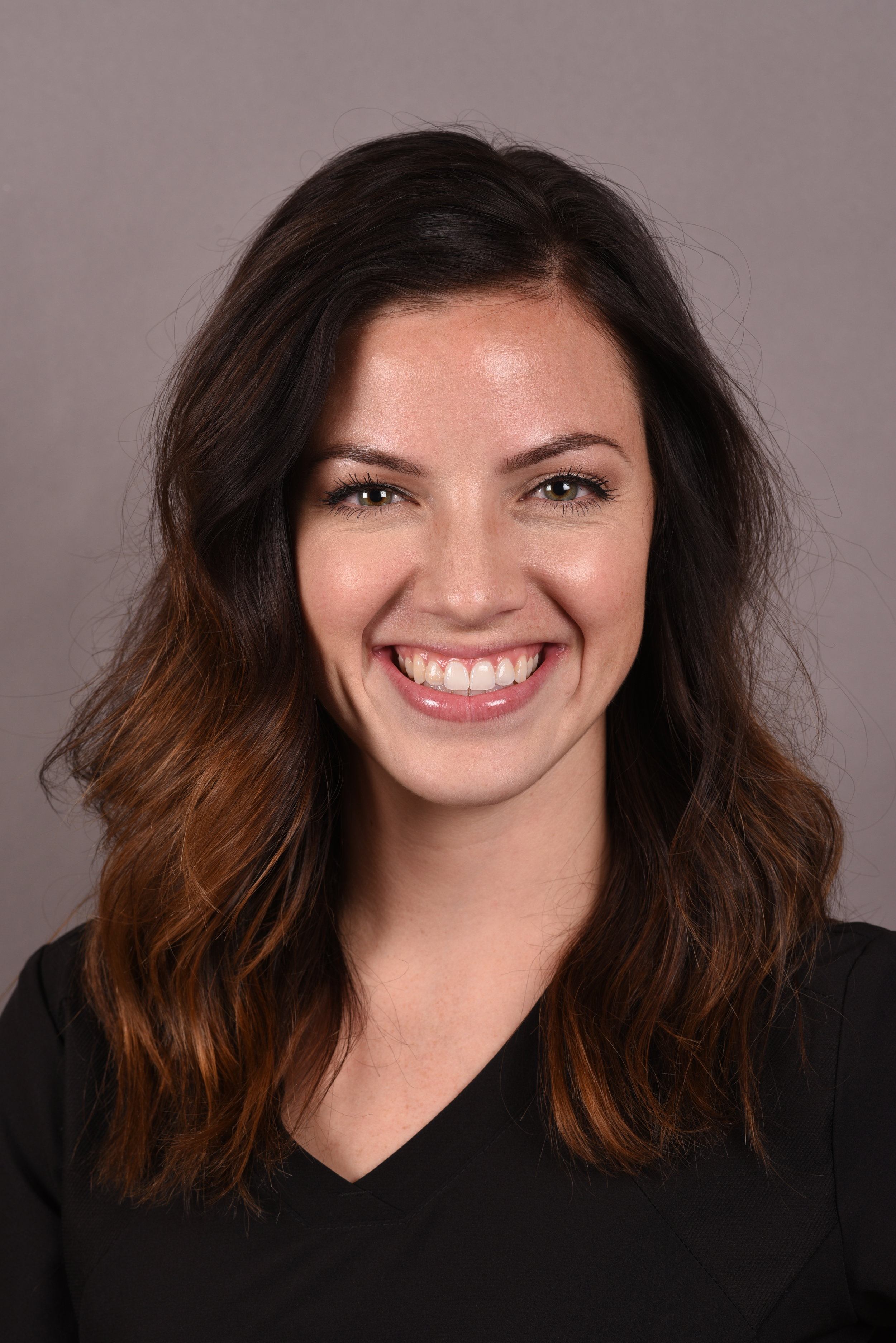 Dani - Office ManagerA Texas native, Dani joined our team in June of 2019. She graduated from the University of Oklahoma with a Bachelor of Science in Microbiology and has been working in the dental field for the last 3 years. Dani loves to educate patients on their oral health and creating roadmaps to their dream smiles.Dani enjoys spending time with her husband Eric, and new puppy, traveling the world and shooting photography.