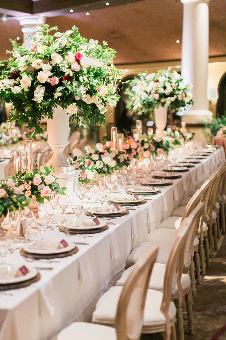 wedding table centerpieces floral and decor las vegas wedding planner angelica rose events with layers of lovely.jpg