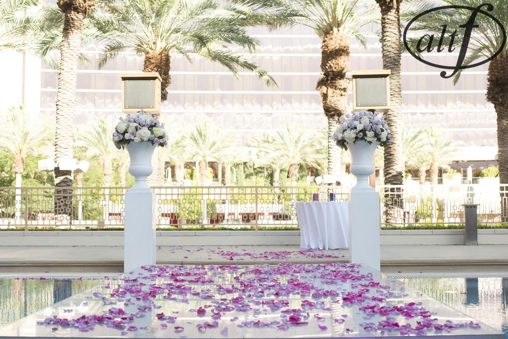 poolside-wedding-ceremony-red-rock-resort