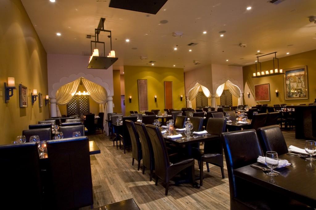 Origin India Restaurant Dining Room