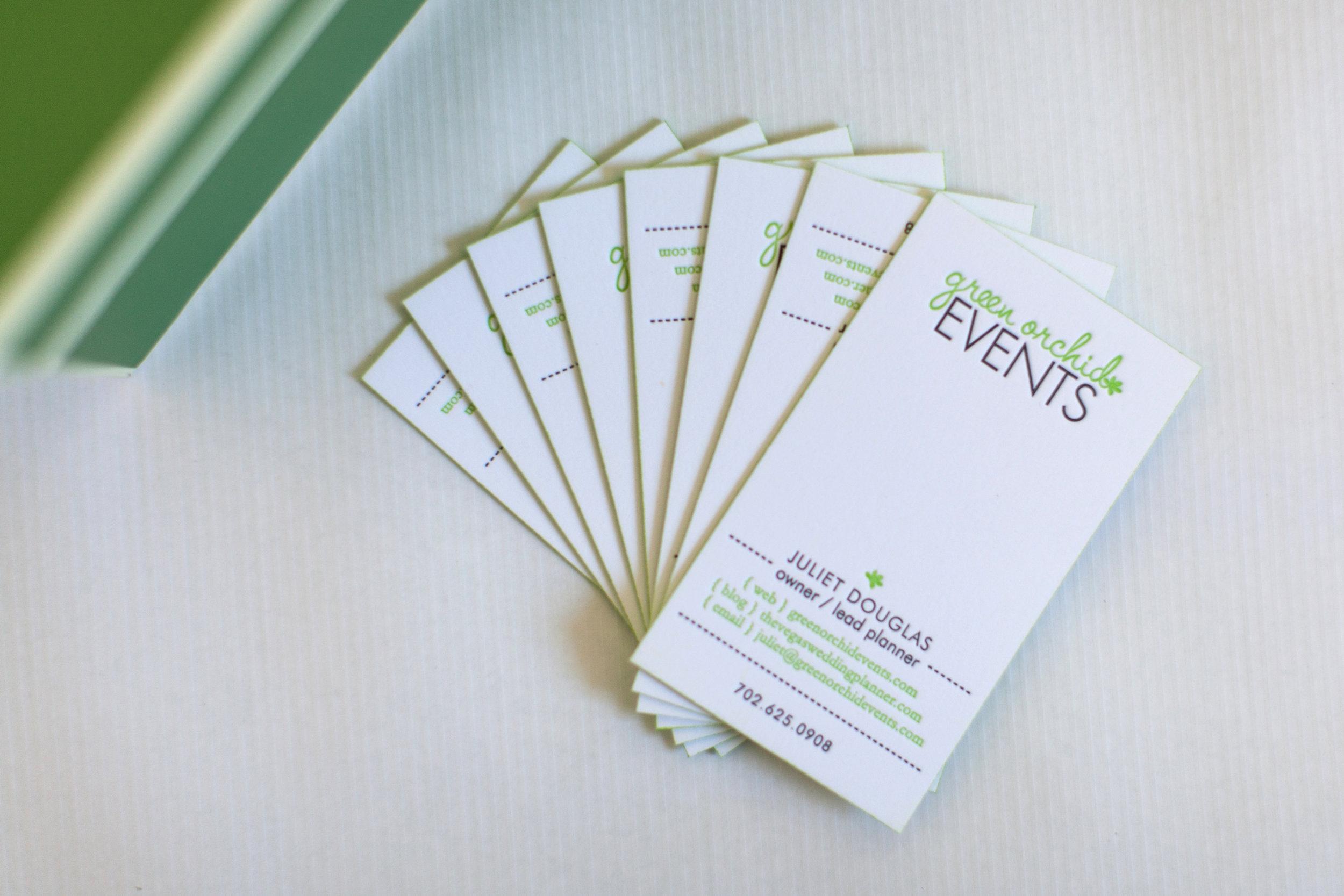 modern-green-letterpress-business-cards
