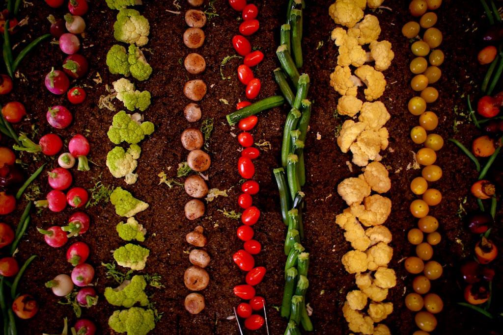 vegetable-display