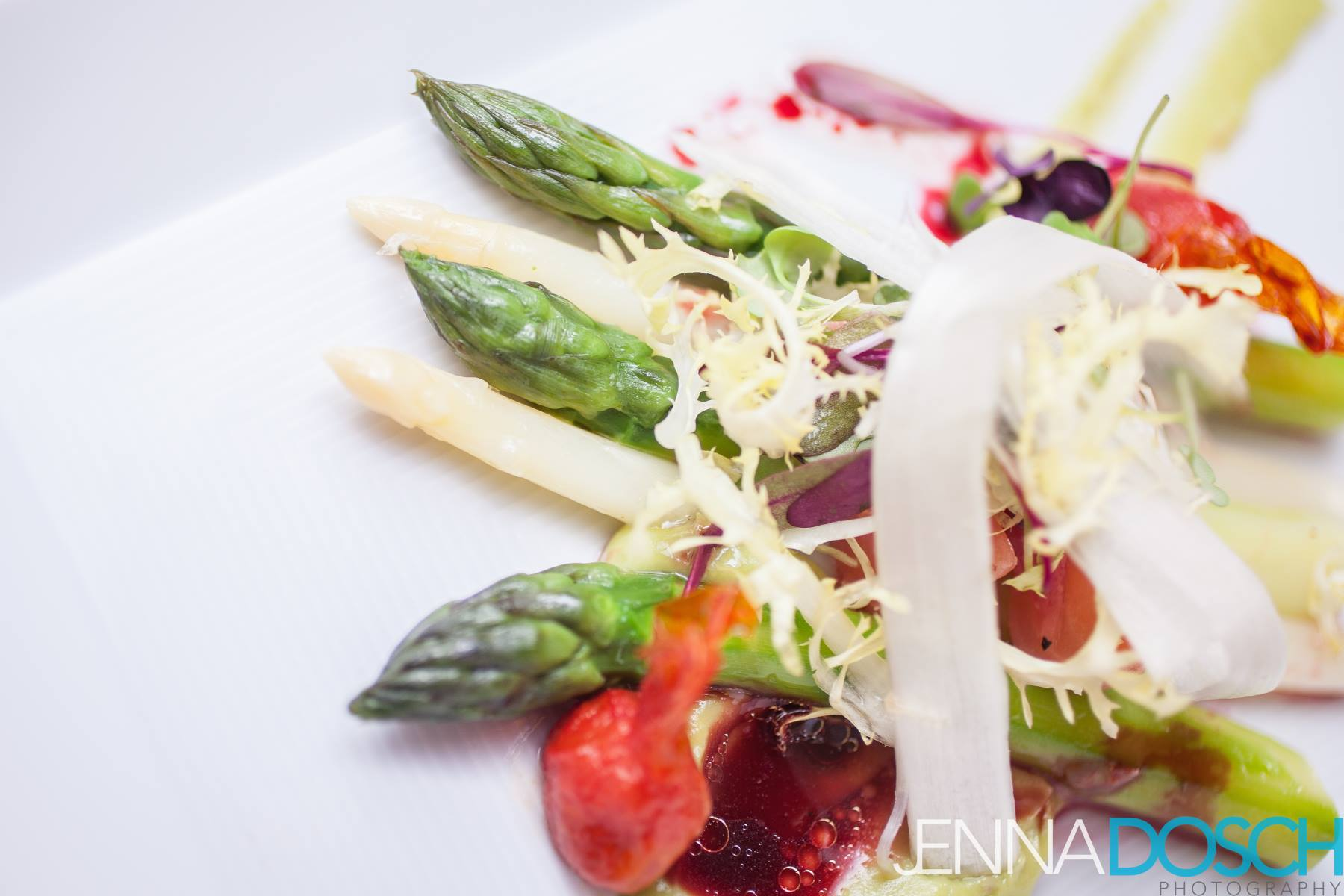 asparagus-salad-avocado-oven-cured-tomatoes-beets