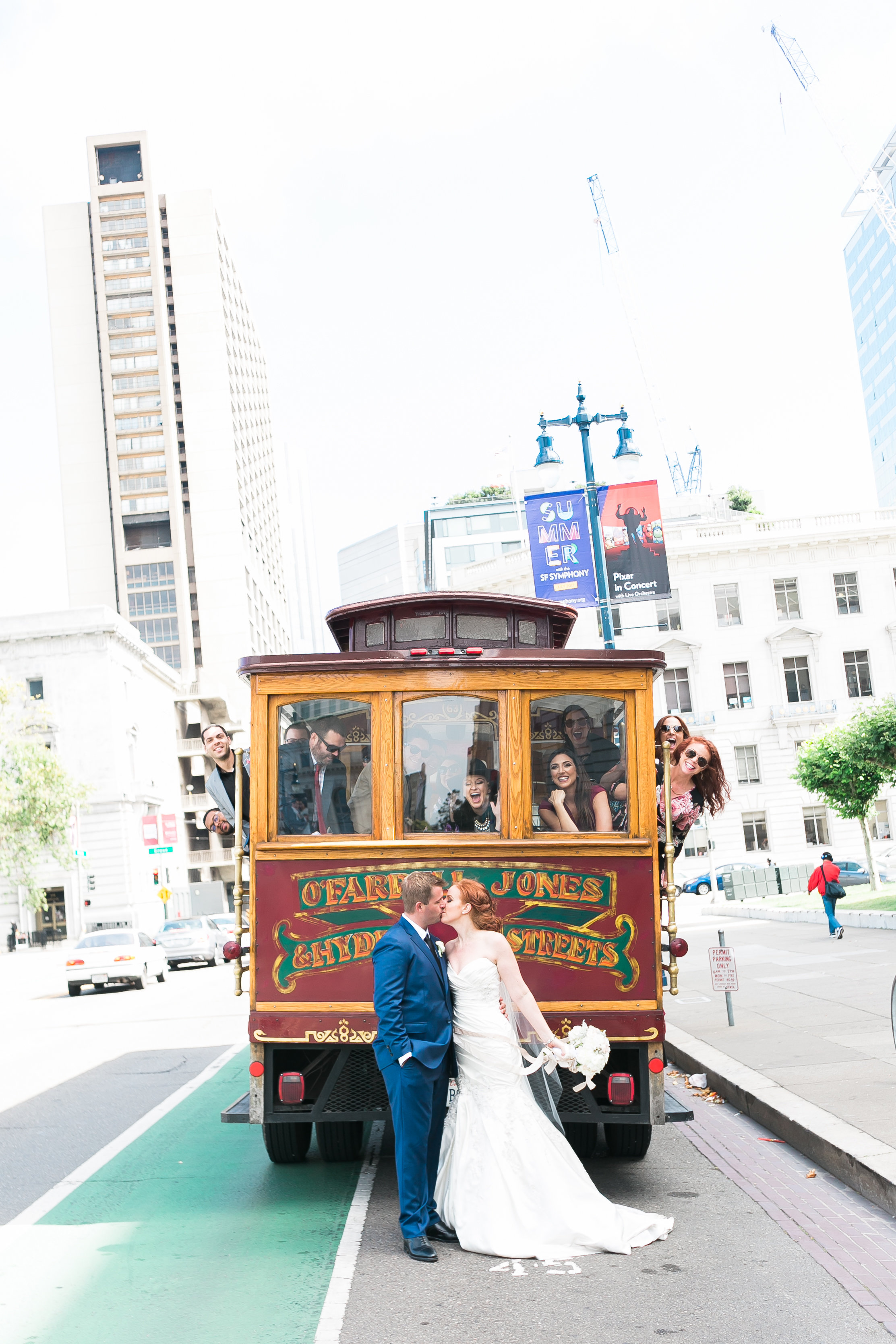 san francisco cable car wedding las vegas wedding planner green orchid events