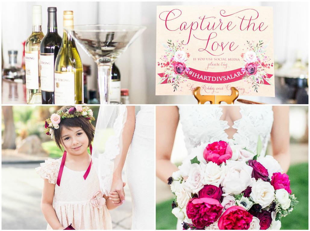 wedding bouqet, wedding flowers, roses, blush pink wedding, red wedding,
