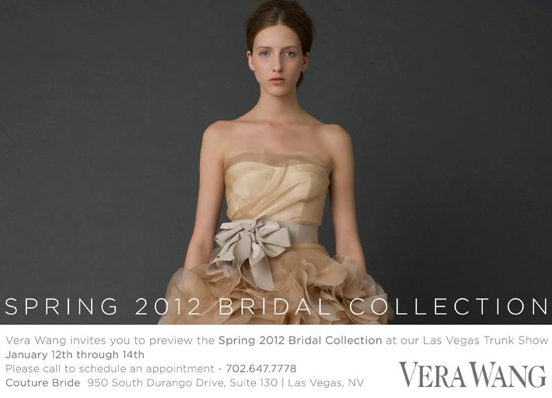 vera wang trunk show at couture bride las vegas