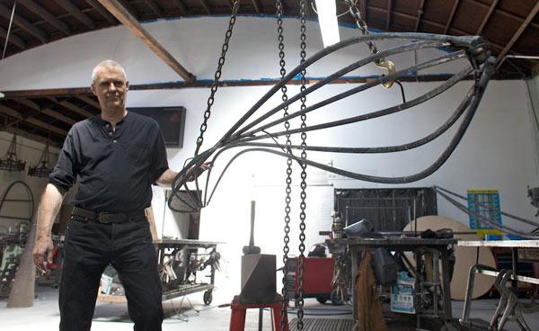 Jefferson Mack with custom metalwork