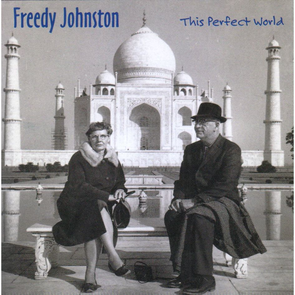 Freedy Johnston's This Perfect World cover art