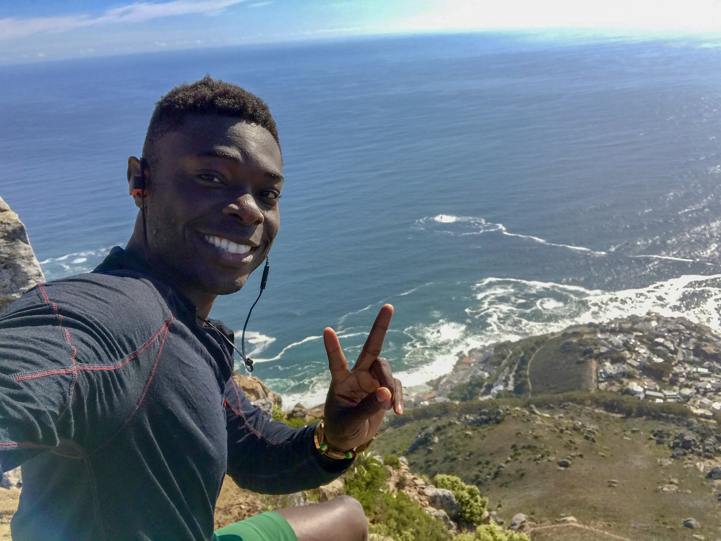 Peace out, from Lion's Head