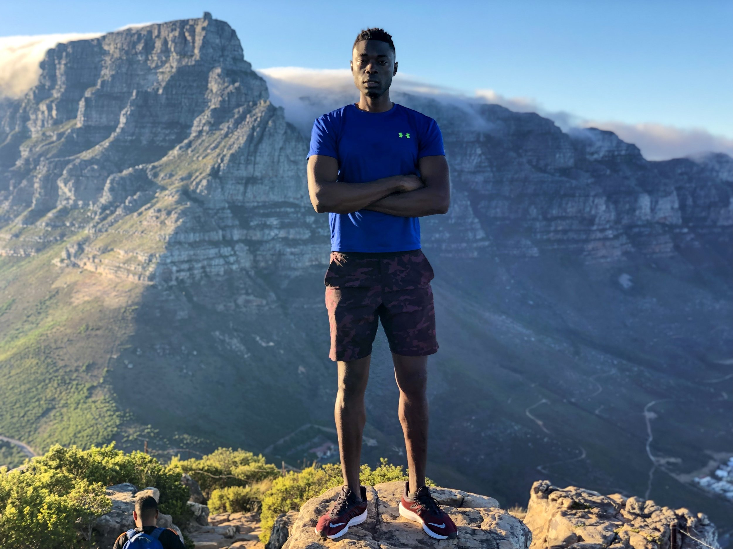 My first hike upon my return in the Mother City.