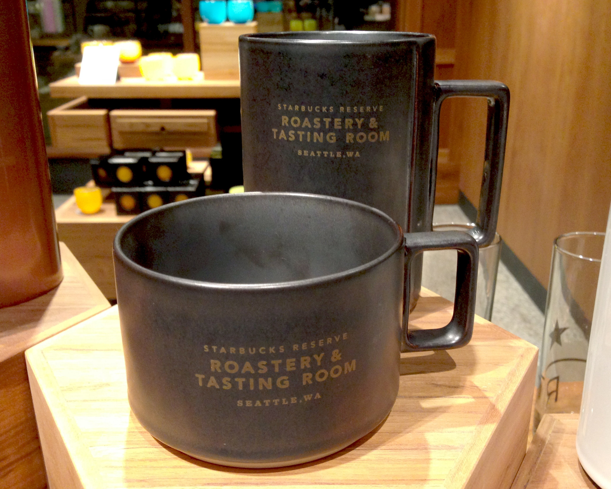 Reserve Roastery Collectible Mug (onyx)