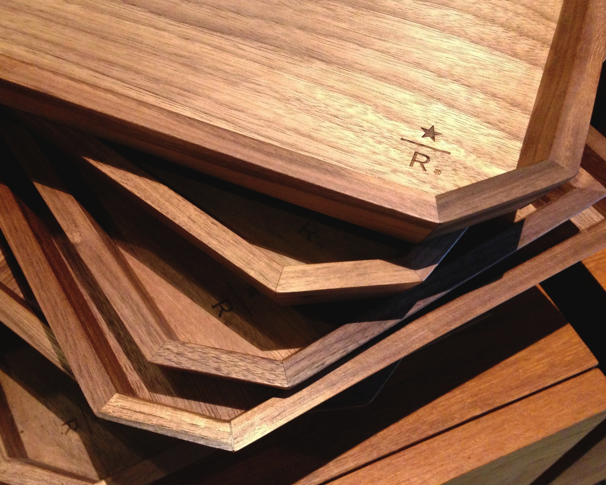 Reserve Roastery Stackable Wooden Trays (3 sizes – now available for purchase)