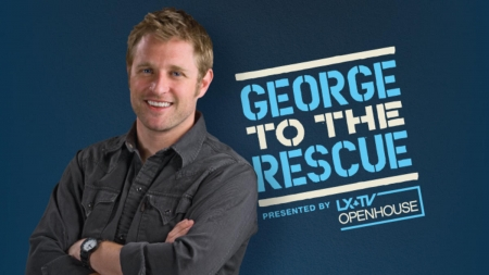 George to the rescue filming
