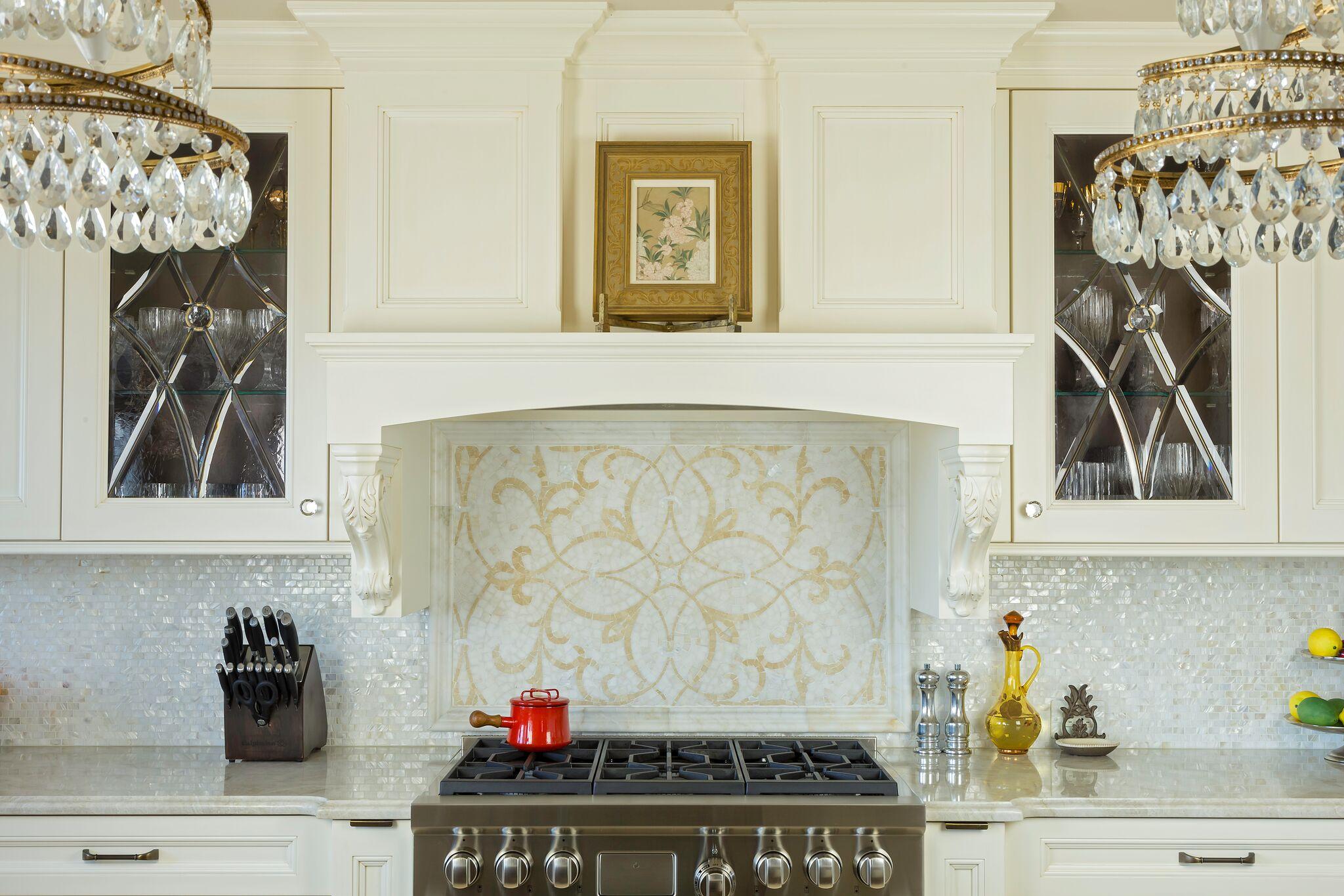 Kitchen Backsplashes: Stone & Tile | Long Island Custom ...