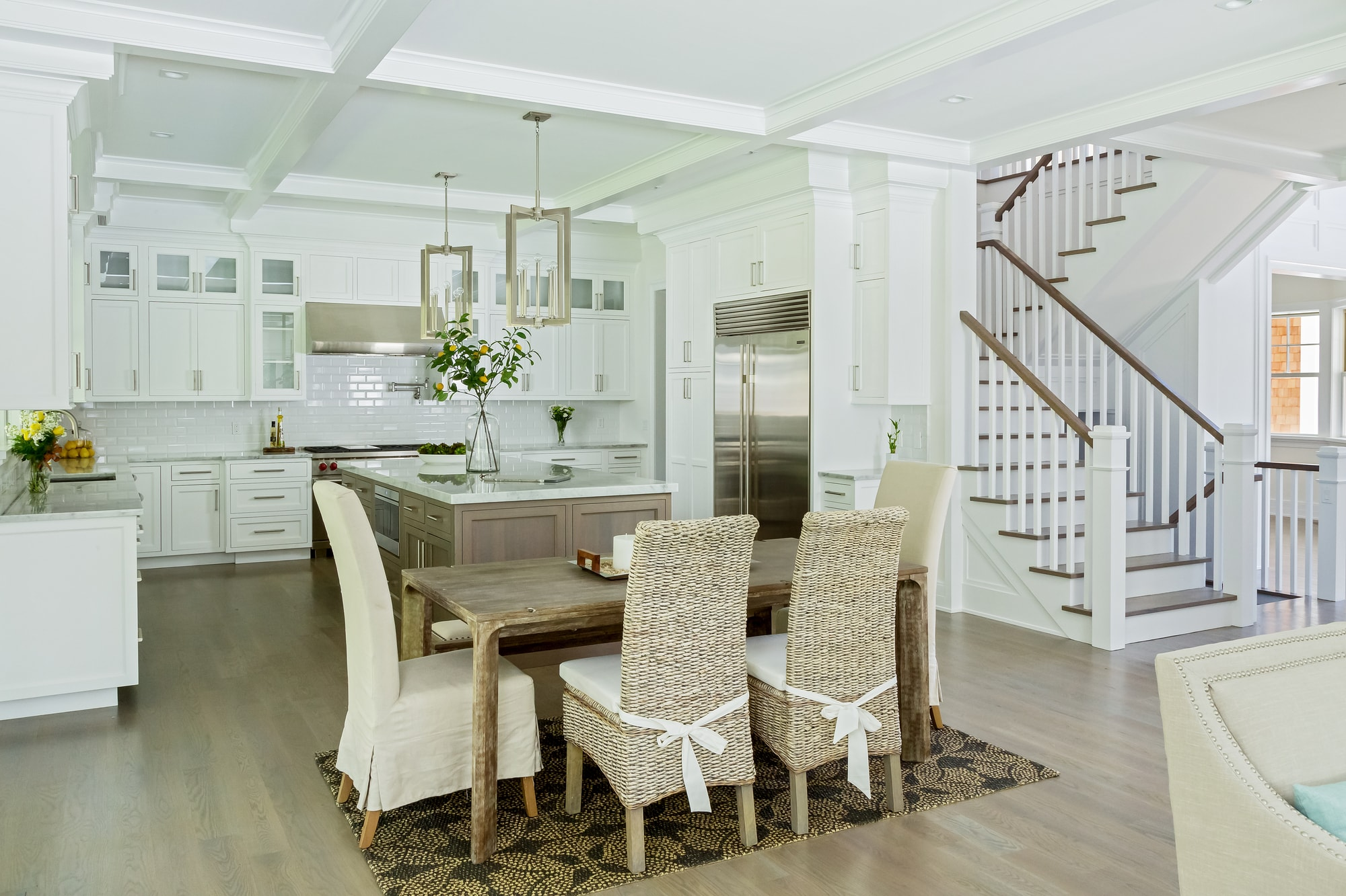 Copy of Transitional style kitchen with breakfast table