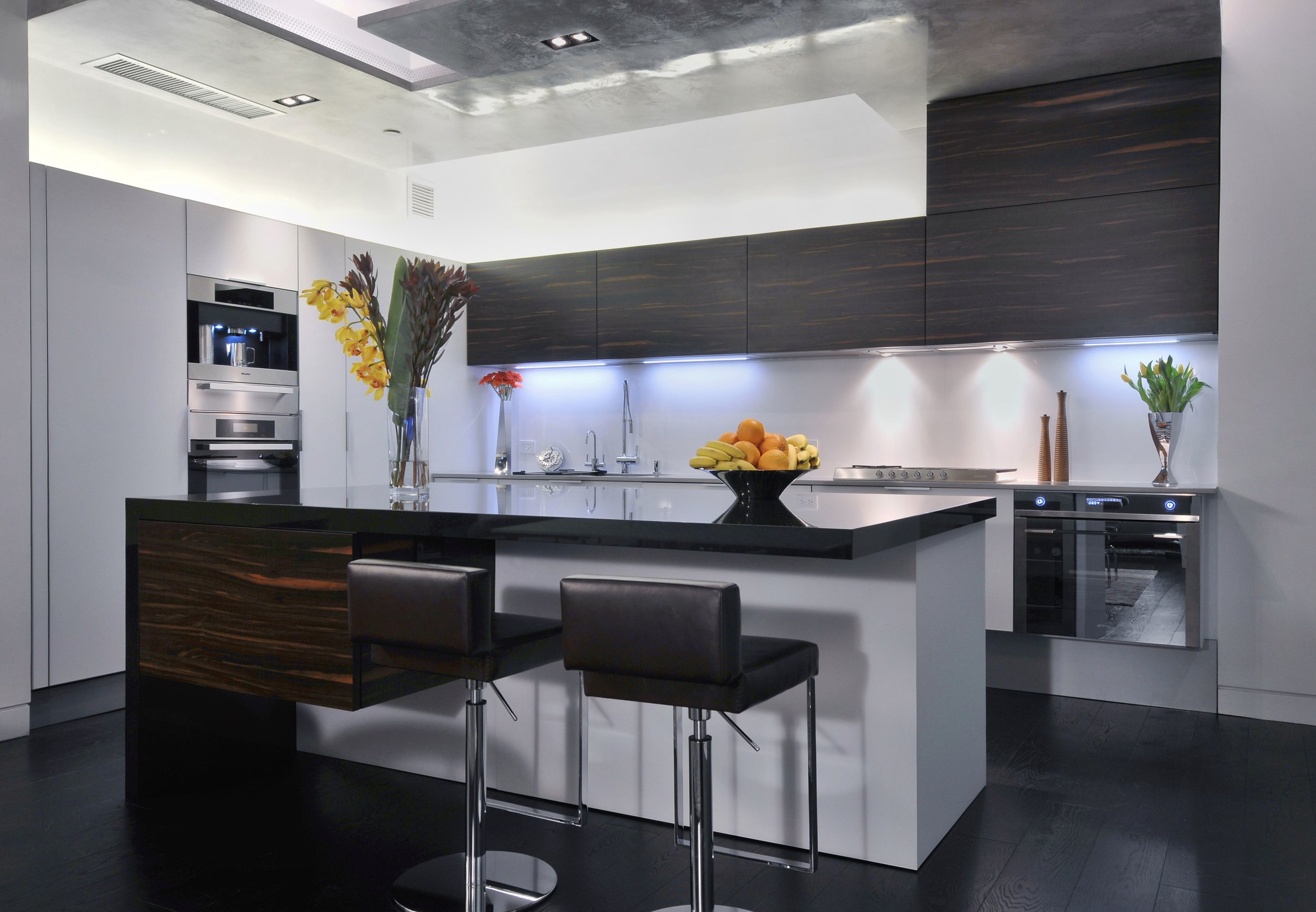 contemporary chic kitchen