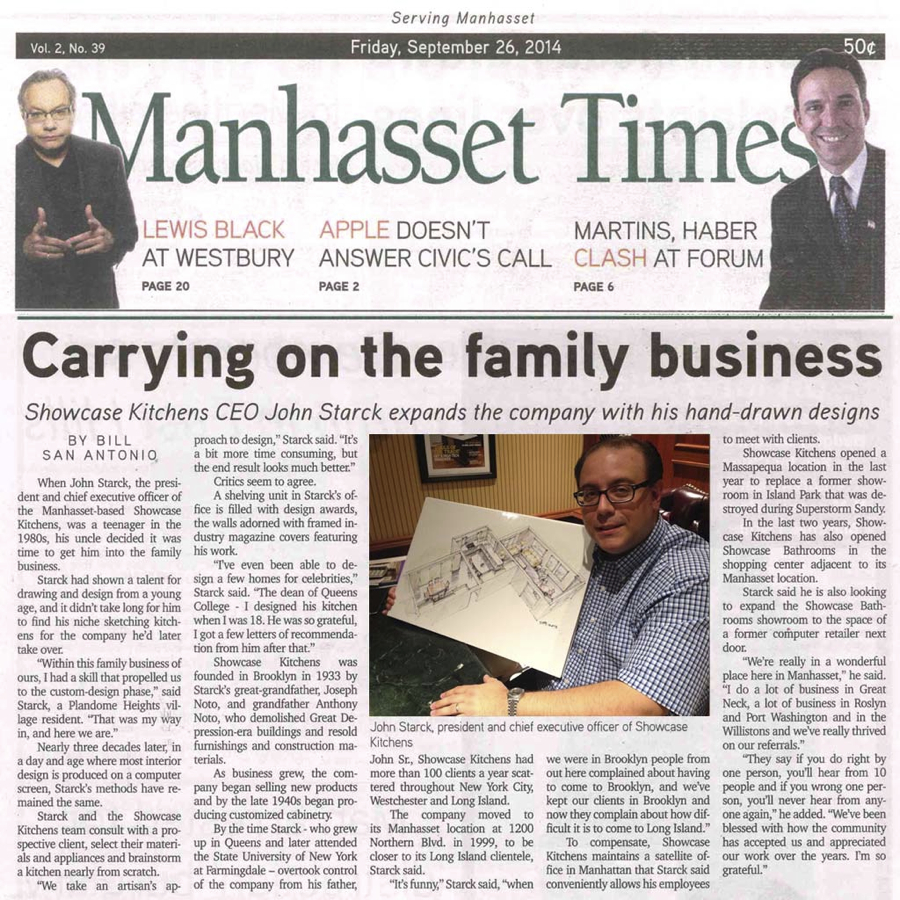 manhasset times article