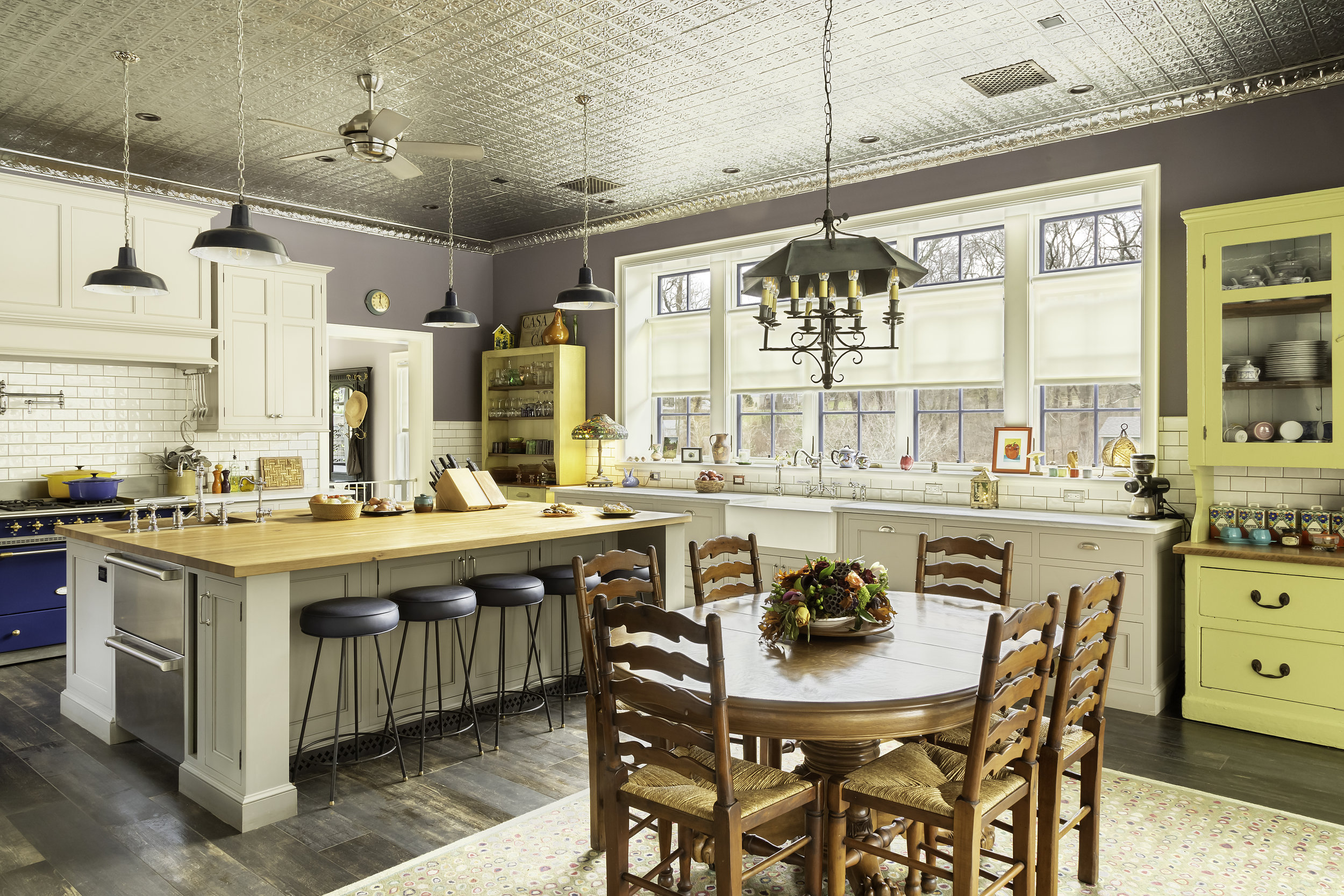 Modern version of a country kitchen