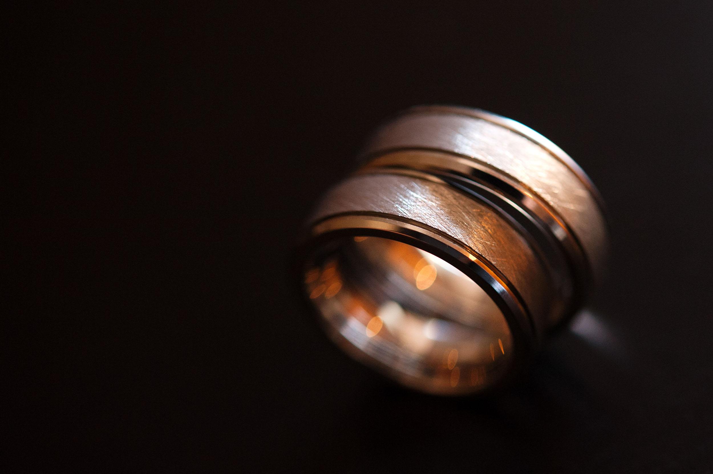 Groom and groom's rings at Pura Vida in Palm Springs.
