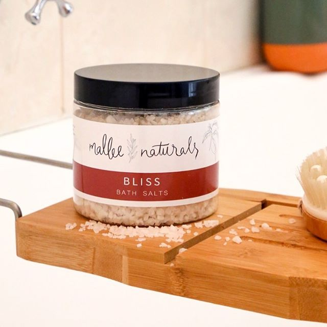 Sunday is the perfect day for a relaxing soak in the tub!! 🛀 My Citrus bath salts are made with the iconic Murray river white rock salt and infused with Epsom salts for a magnesium boost!!! Local stockists & postage Australia wide 👏🏼 Go on...relax!!!! @cloveorganics @tilleysfurniture @sollifeyogaandorganicshop @the.lillypilly.shed @murrayriversalt Irymple Newsagency & Sunraysia Produce