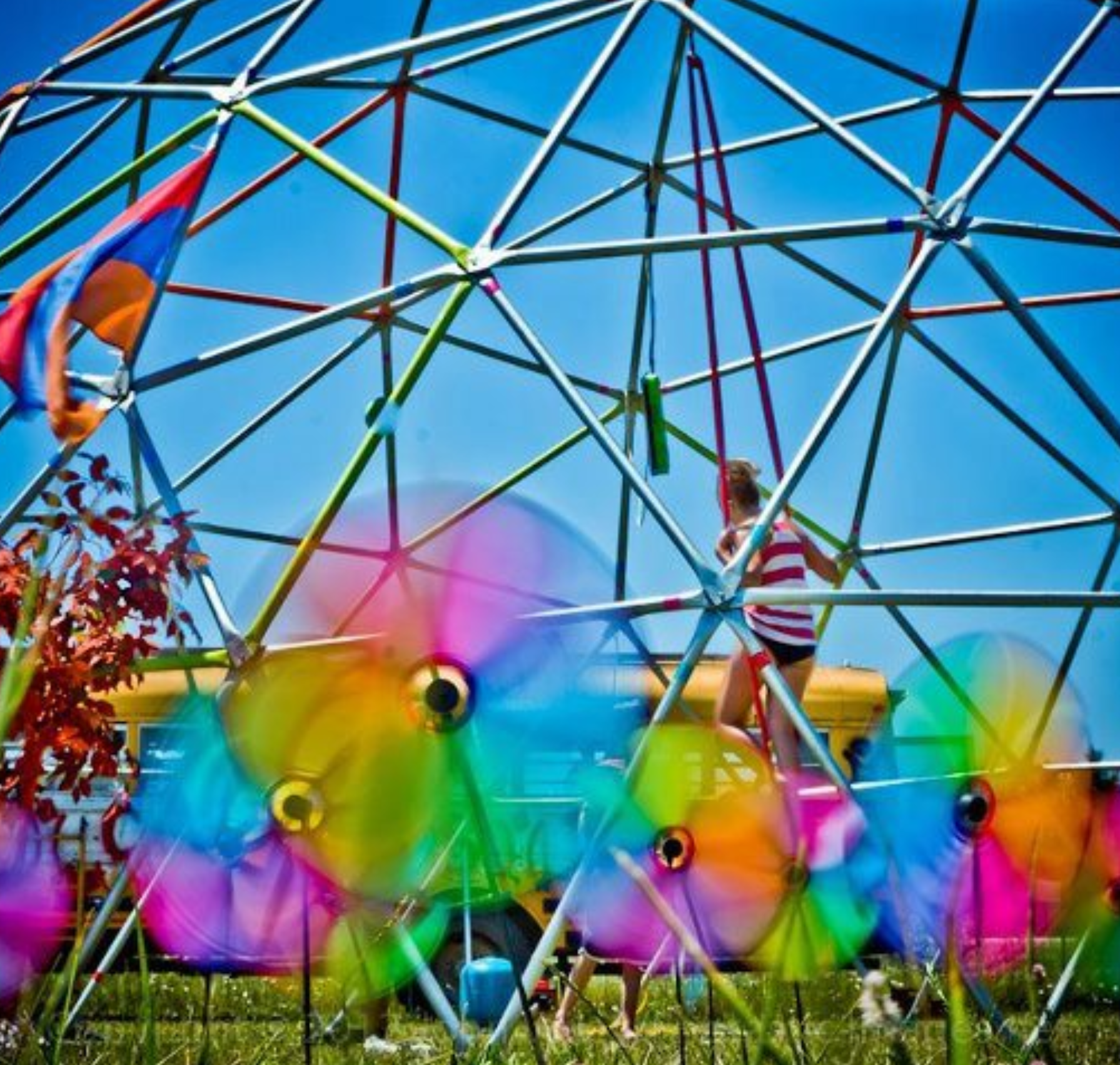 GEODESIC DOME   Fabricated Steel