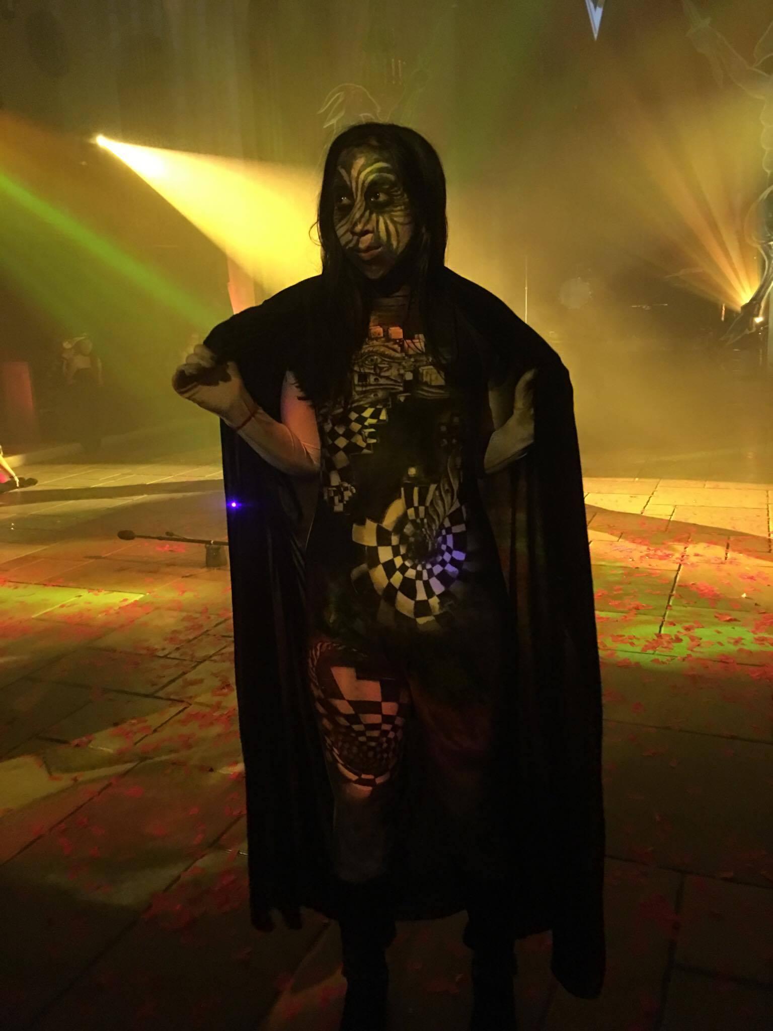 Bodysuit Costume for Theatre Bizarre in Detroit