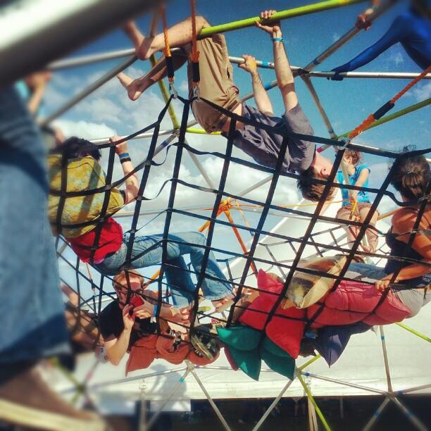 Cargo Net at Maker Faire Detroit