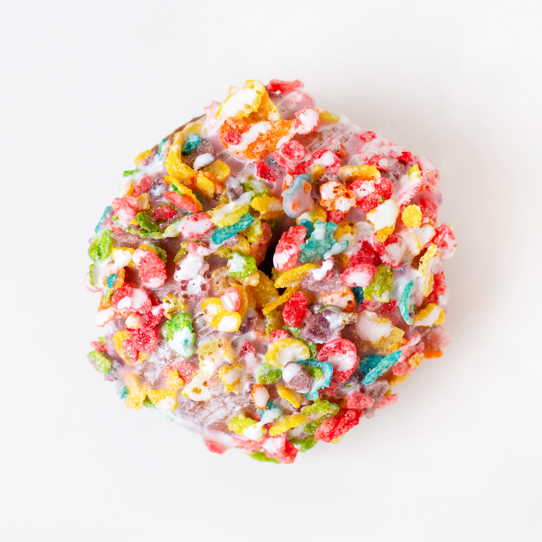 Mermaid's Delight - strawberry icing, fruity pebbles, marshmallow drizzle