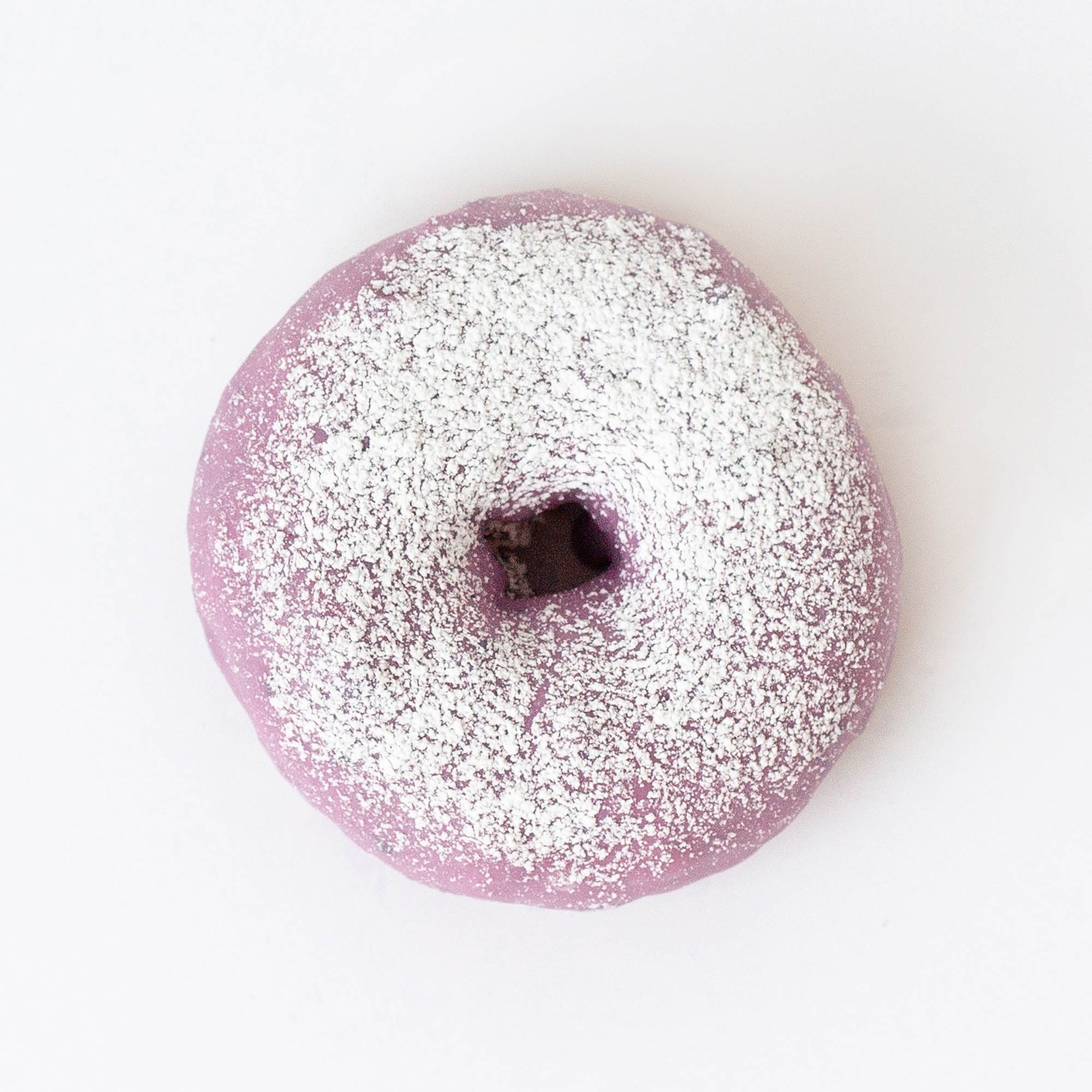 The Jack Dusty - blueberry icing, powdered sugar