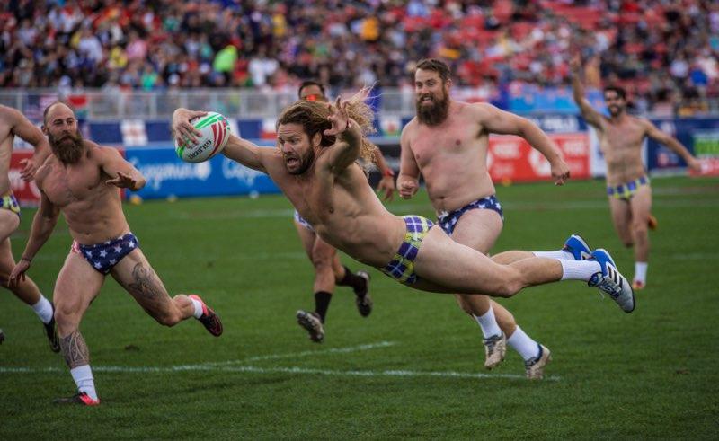 Las Vegas 7s Rugby Speedo Game