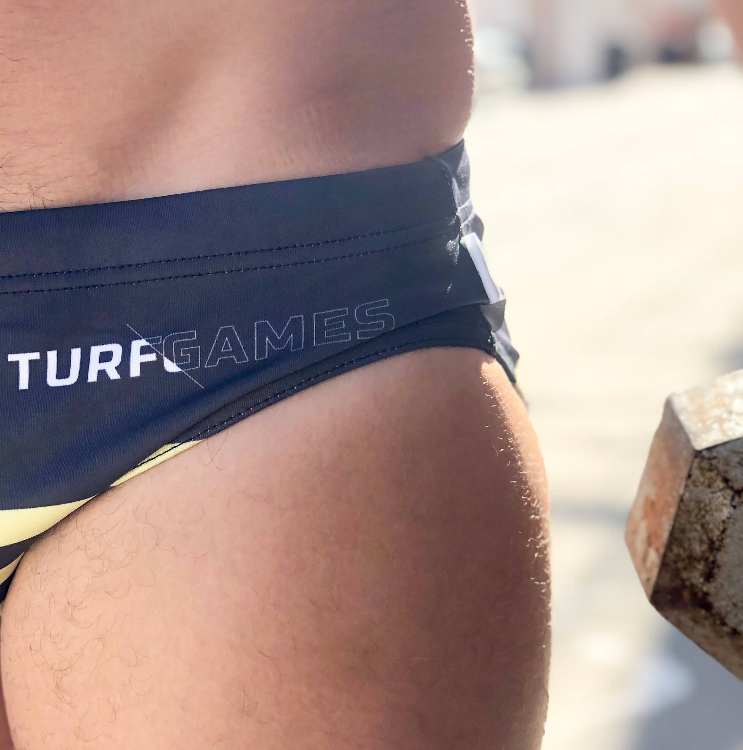 Rep the Turf Games Noodle Bagz for your prehab swim on Friday
