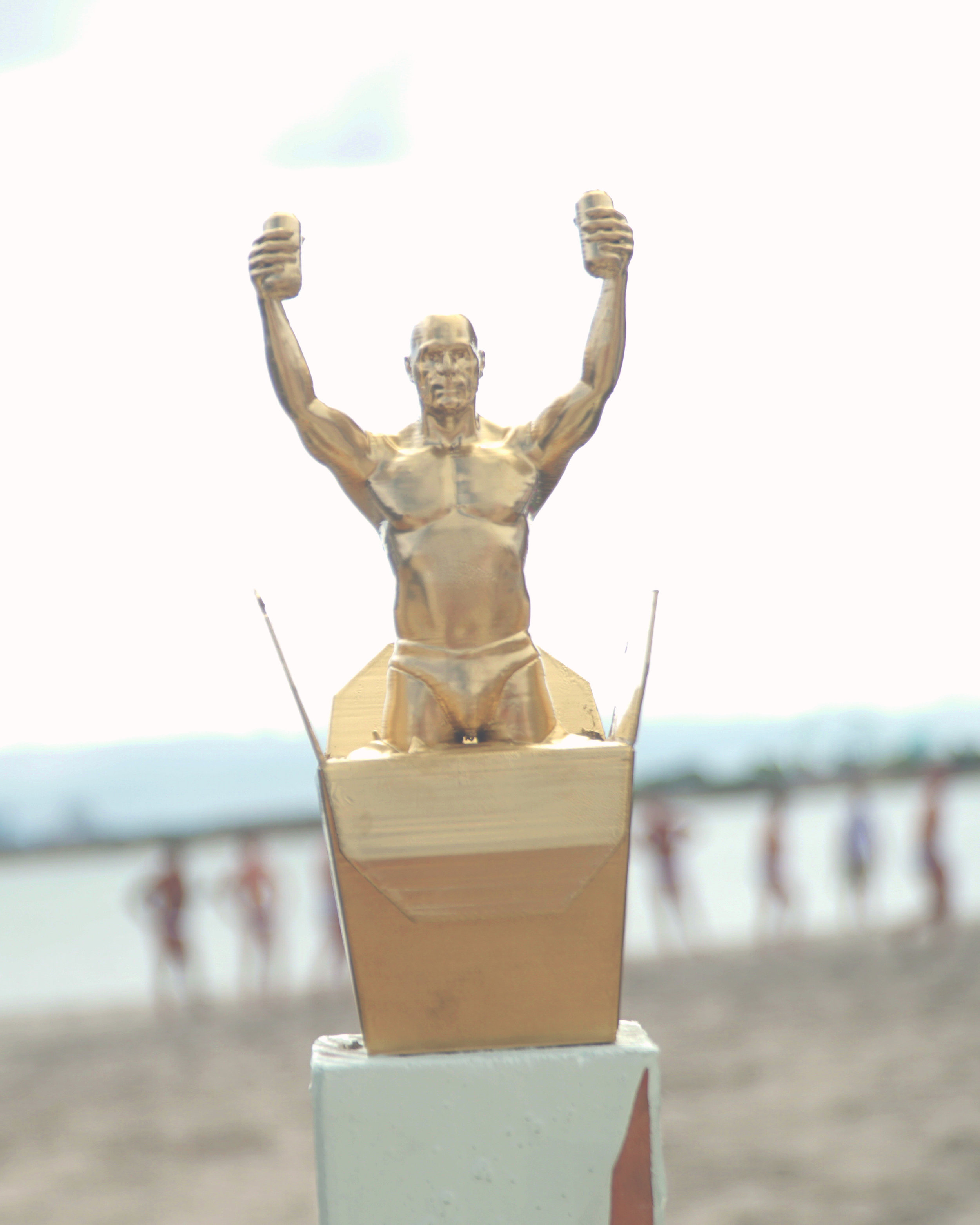noodle bagz beach touch rugby trophy