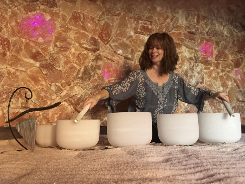 Lisa Kawski, the sound healing goddess