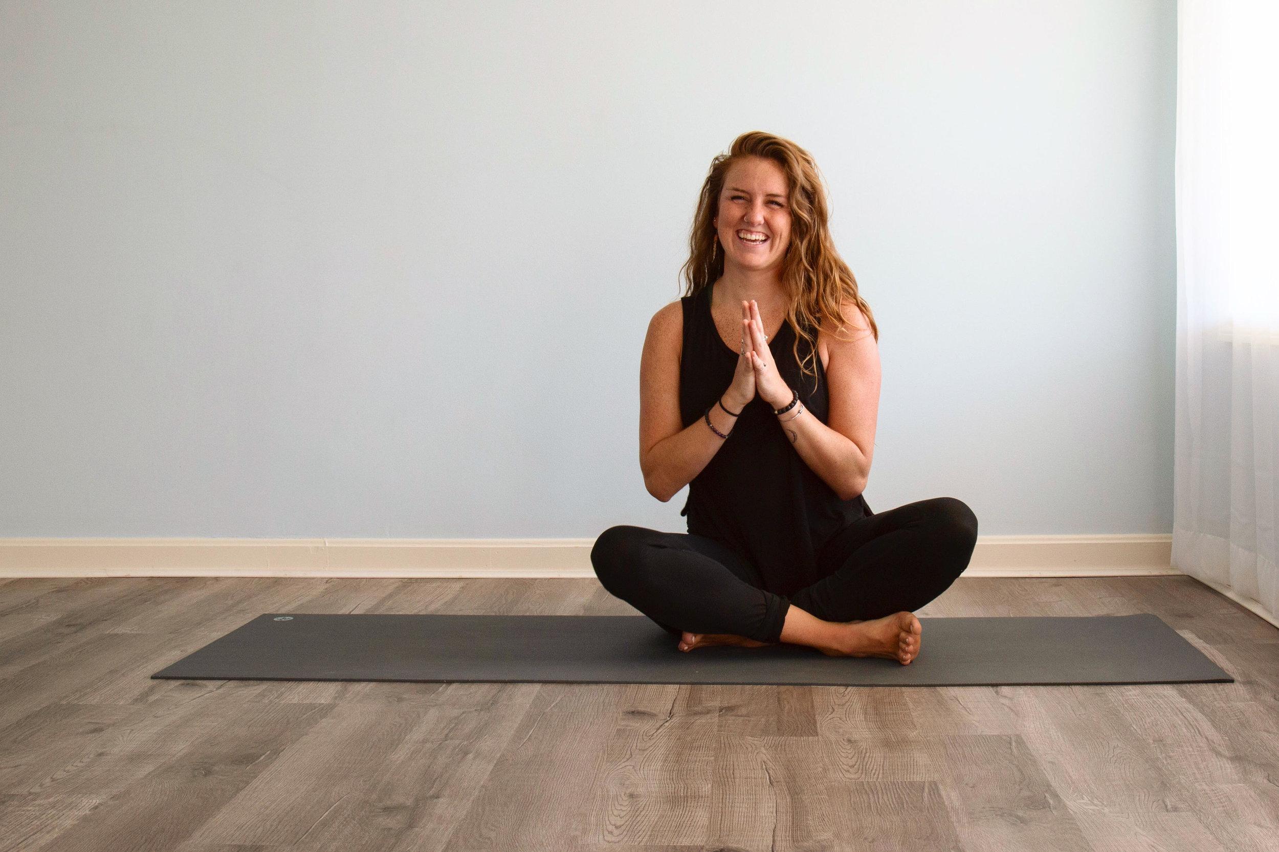 Dani Mulligan, yoga instructor