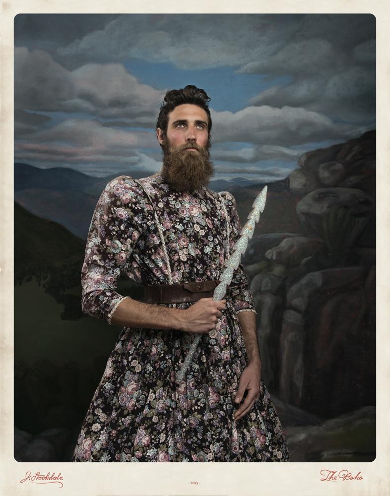 Jacqui Stockdale  Man of Quinn, 2016  Type C Print Edition of 8 + 2AP 140 x 110 cm
