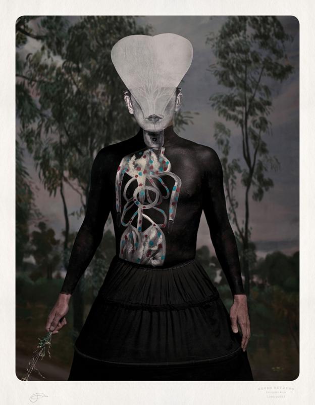 Jacqui Stockdale  Negro Returno, 2012  Type C Print Edition of 8 + 2AP 100 x 78 cm