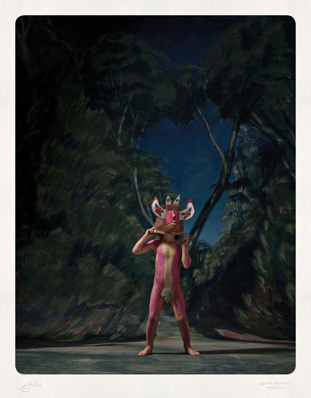 Jacqui Stockdale  Infanta Shamanta, 2012  Type C Print Edition of 8 + 2AP 100 x 78 cm
