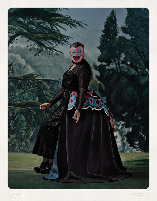 Jacqui Stockdale  Luchadora Botanica, 2012  Type C Print Edition of 8 + 2AP 100 x 78 cm