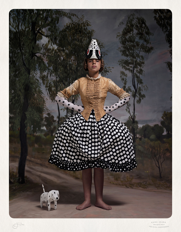 Jacqui Stockdale  Rama-Jaara the Royal Shepherdess, 2012  Type C Print Edition of 8 + 2AP 100 x 78 cm