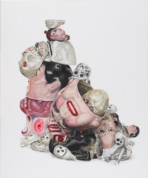 Jacqui Stockdale  Mind over Matter, 2010  Oil on linen 140 x 100cm