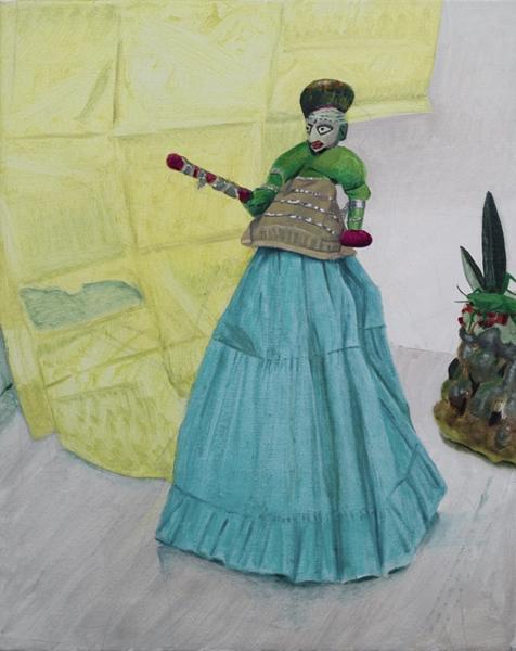 Jacqui Stockdale  Prince in Battle, 2008  Oil on linen 76 x 61cm