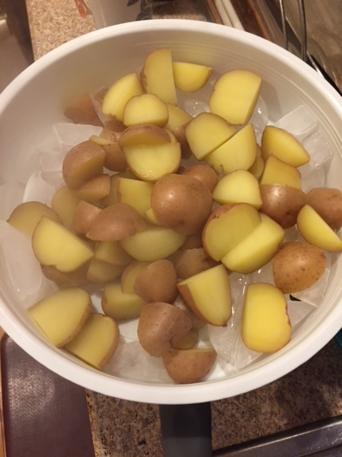 Ice Your Potatoes for Potato Salad - Cooking with Kids NY