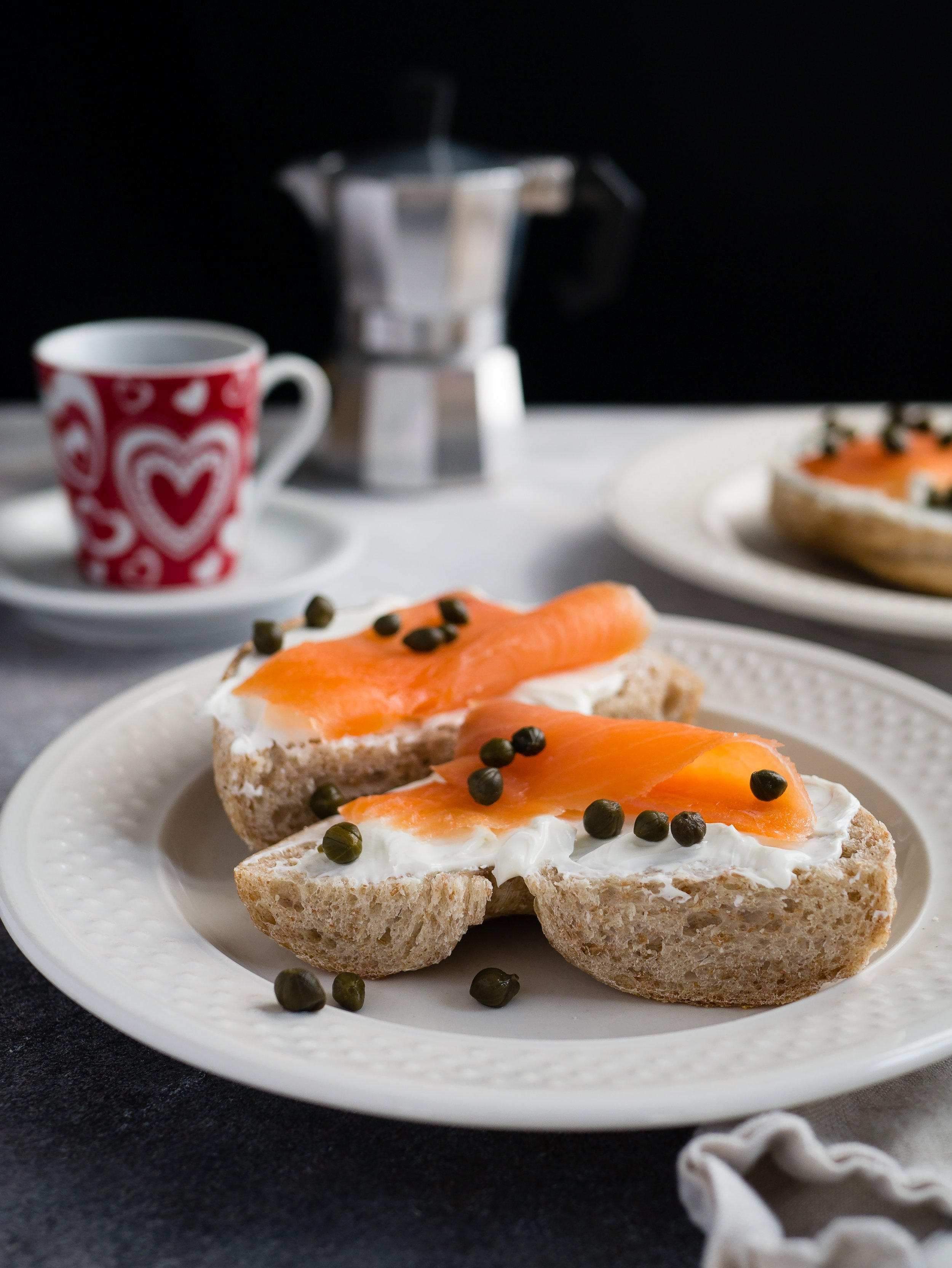 Nothing Says Brunch like Smoked Salmon and Bagels!