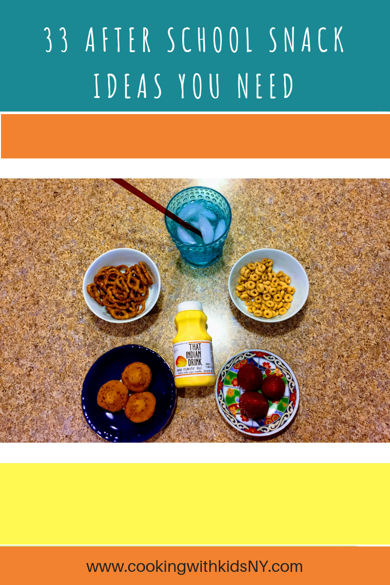 33 Easy After School Snack Ideas You Need Now.png