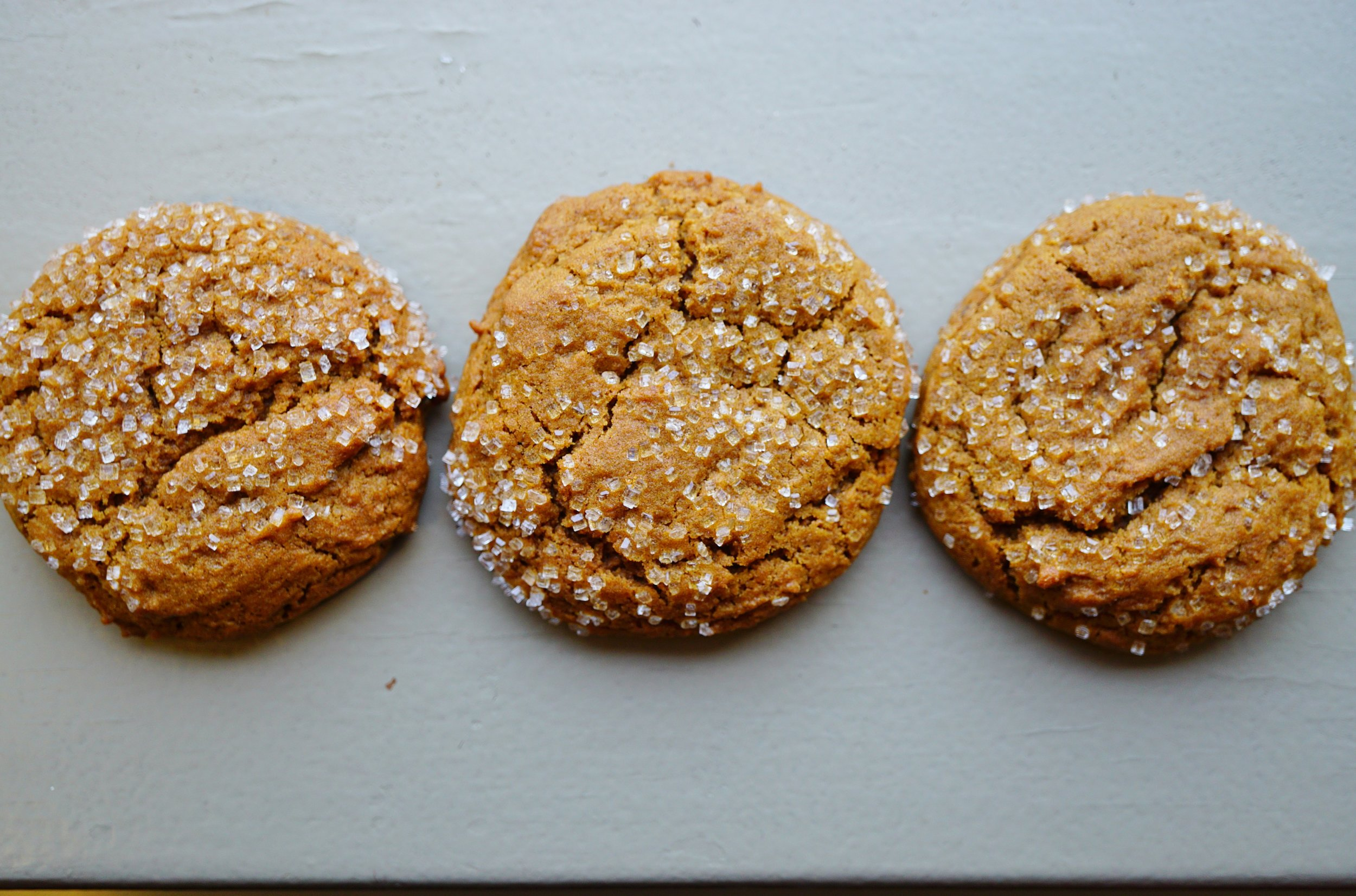 Jamaican Ginger Snap Cookies