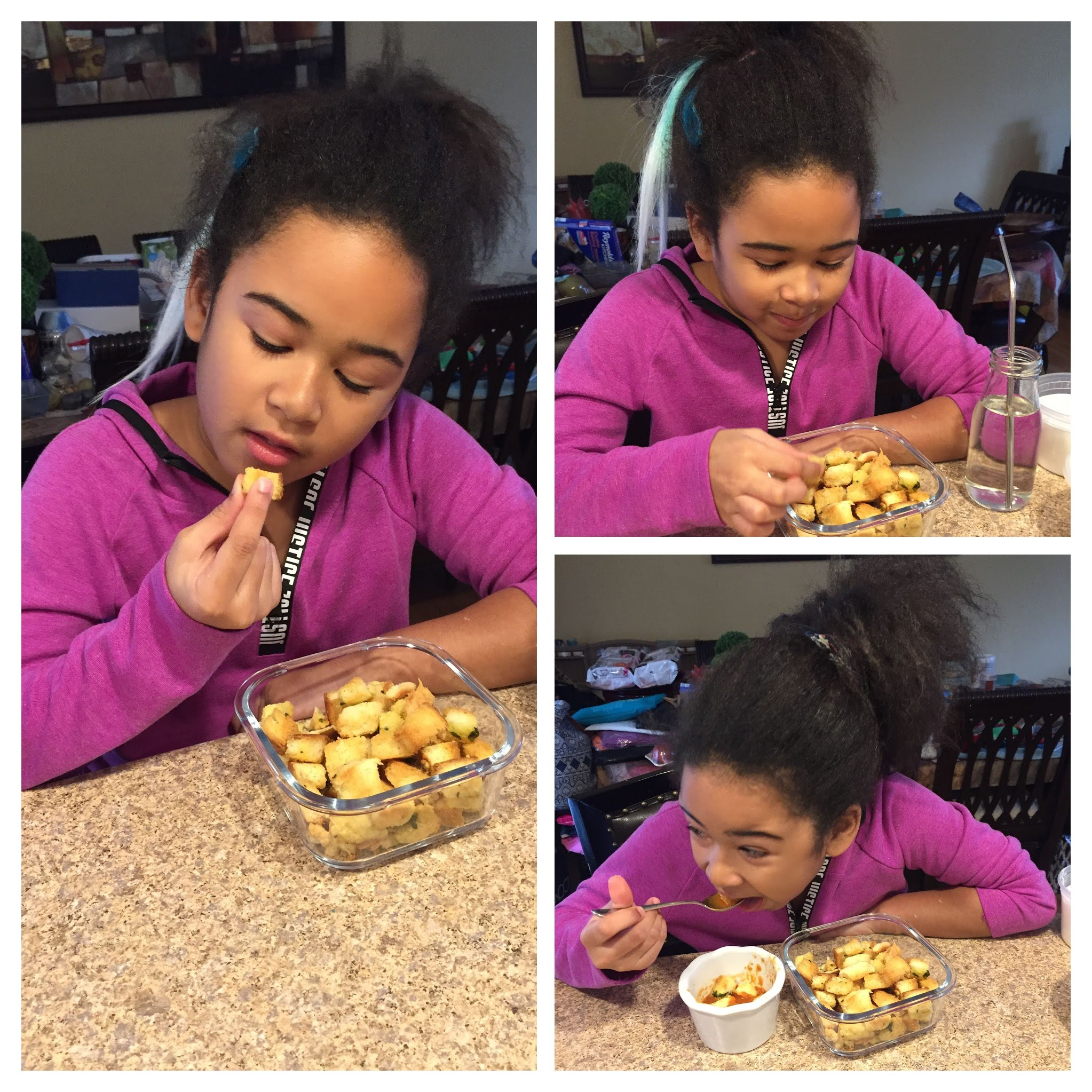 Kids Cooking and Baking Classes Westchester NY - Homemade Croutons
