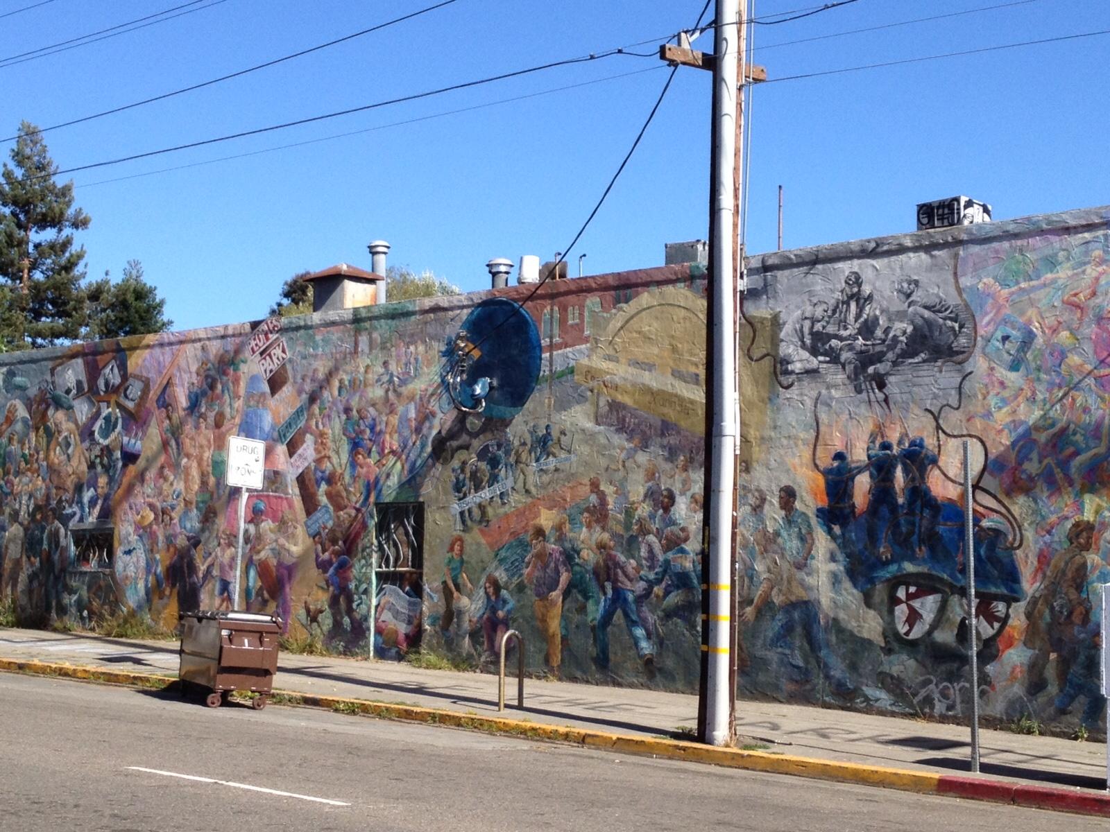 Restoration of A People's History of Telegraph Avenue (Berkeley, CA)