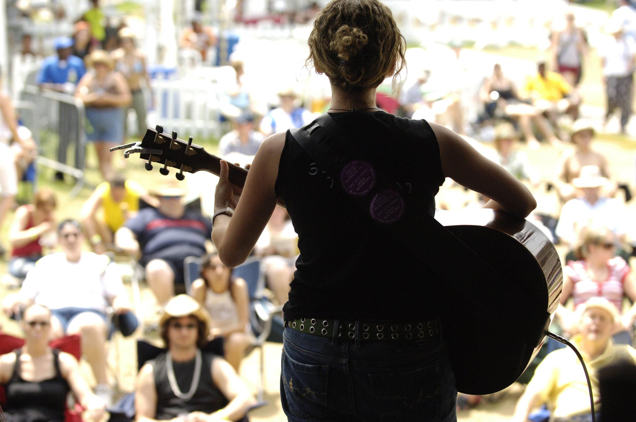 Performing at Ottawa Blues Festival 2008